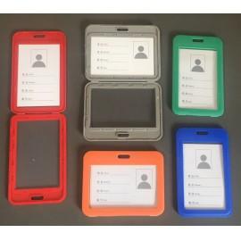 Zárható kártyatok (álló, színes)