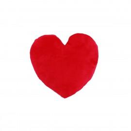 Plüss szív párna, egyedi fényképpel, felirattal