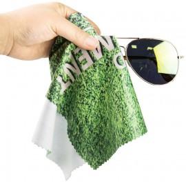 Szemüveg törlőkendő, egyedi fényképpel, felirattal
