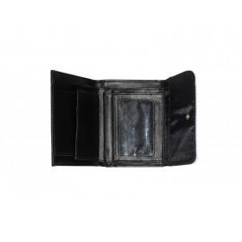 Bőr pénztárca, egyedi fényképpel, felirattal