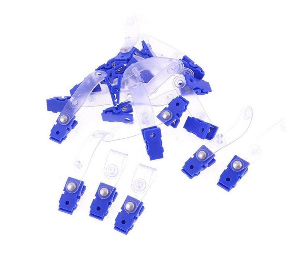 Műanyag csipesz rögzítőpánttal