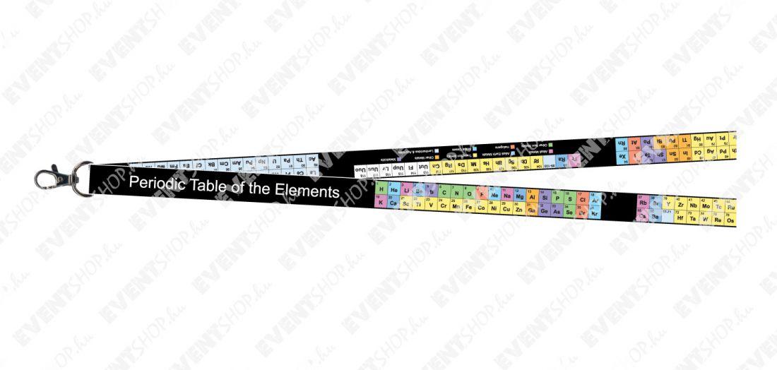 Periodic Table nyakpánt