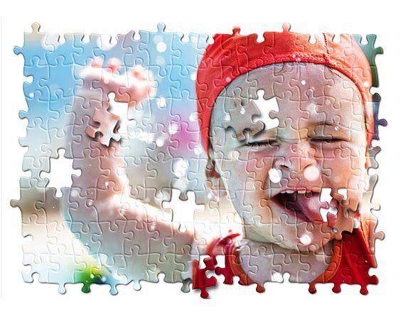 Puzzle 29x20cm méretben, egyedi fényképpel, felirattal