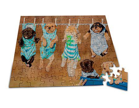 Puzzle 20x15cm méretben, egyedi fényképpel, felirattal